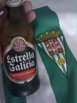 Estrella Galicia para celebrar el ascenso del Córdoba